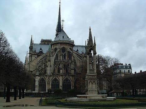 Notre Dame, Paris France 1 by Gilbert Pennison