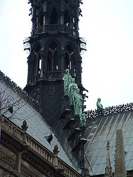 Notre Dame Spire by Gilbert Pennison