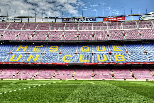 Nou Camp Stadium Barcelona by David Pyatt