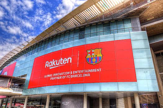 Nou Camp Stadium Barcelona View by David Pyatt
