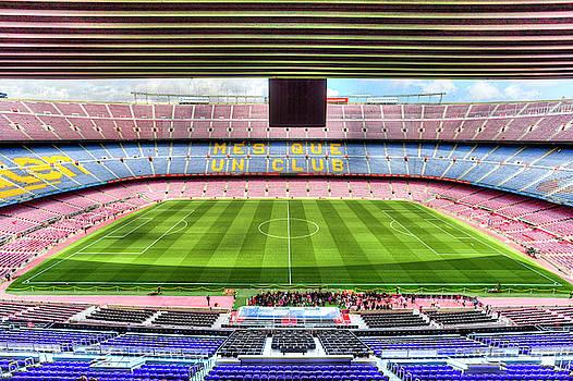 Nou Camp Stadium by David Pyatt