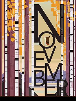 November by Garth Glazier