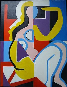 Nude Lady by Nicholas Martori