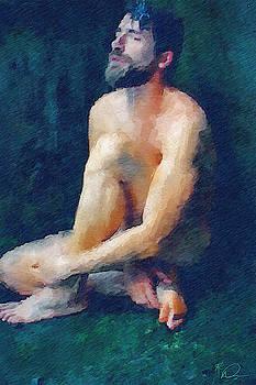 Nude Yoga 2 by David Derr