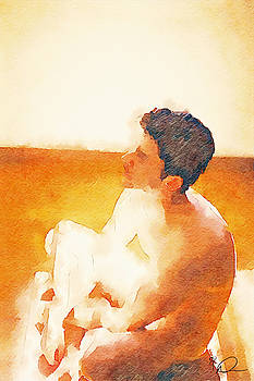 Nude Yoga  by David Derr