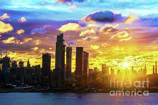 Regina Geoghan - NYC Kaleidoscope Sunrise