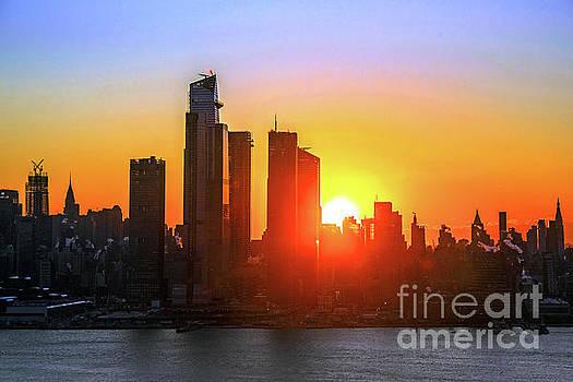 Regina Geoghan -   NYC Polar Vortex Sunrise