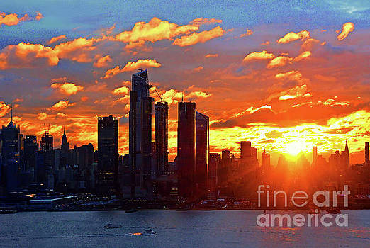 Regina Geoghan - NYC Sunrise over the Horizon