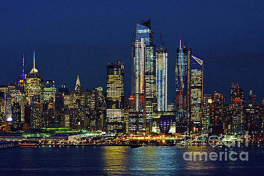 Regina Geoghan - NYC- Twilight Blue and Night Lights