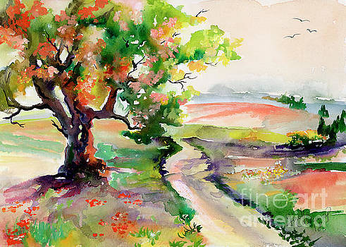 Ginette Callaway - Oak Tree Landscape Path home