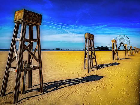 Ocean City Beach by Paul Wear