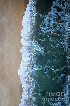 Ocean Meets Land  by Michael Ver Sprill
