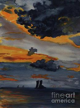 Ocean Meets Sky by Jim Thorpe