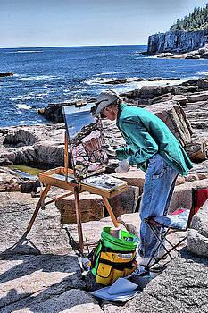 Ocean Painter by Karl-Heinz Luepke