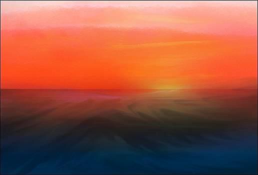 Ocean Sunset by Aaron Berg