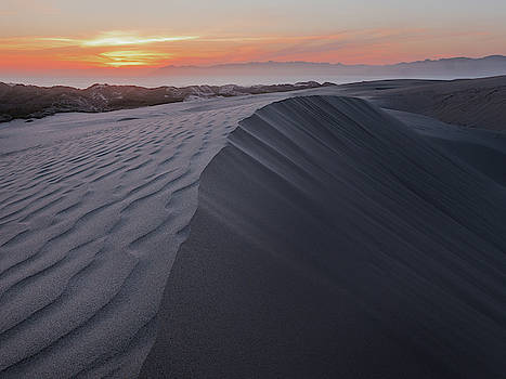 MIKE LONG - Oceano Dunes Sunset