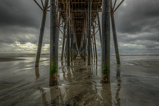 Oceanside Pier in California by Constance Puttkemery