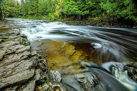 Ocqueoc Falls 1 by Tom Clark