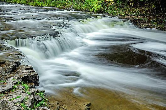 Ocqueoc Falls 2 by Tom Clark