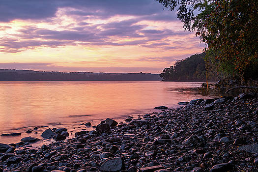 October Dawn Over the Hudson II - 2018 by Jeff Severson