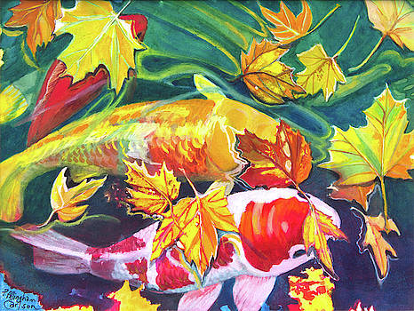 October Koi by Patricia Allingham Carlson