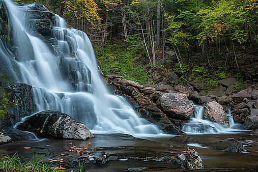 October Morning at Bastion Falls II by Jeff Severson