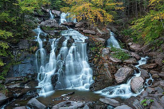 October Morning at Bastion Falls by Jeff Severson