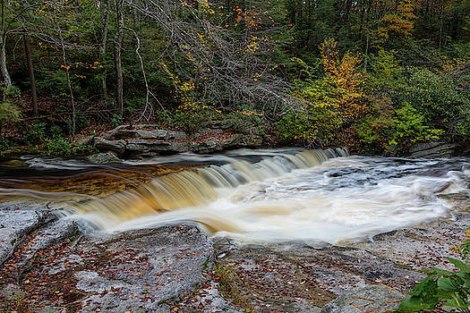 October Morning on the Peterskill by Jeff Severson