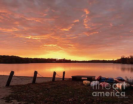 October Sunrise by Linda Troski