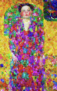 Ode To Eugenia Abstract Realism by Georgiana Romanovna