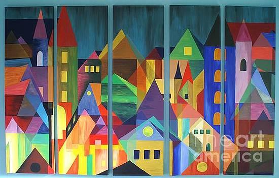 Ode to Feininger by Lia Van Elffenbrinck