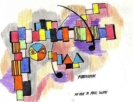 Ode to paul klee by Paul Meinerth