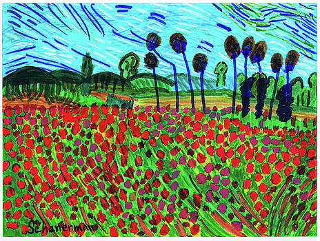 Ode To Van Gogh by Susan Schanerman