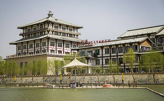 Office Building Dunhuang Gansu China by Adam Rainoff