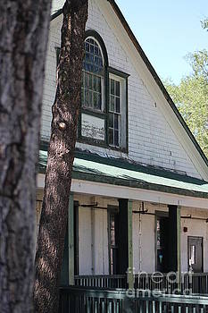 Officers Quarters at Fort Stanton New Mexico by Colleen Cornelius