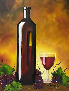 Okanagan Red  by Sharon Duguay