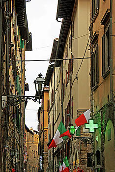 Old Alley in Rome by Kathy Yates
