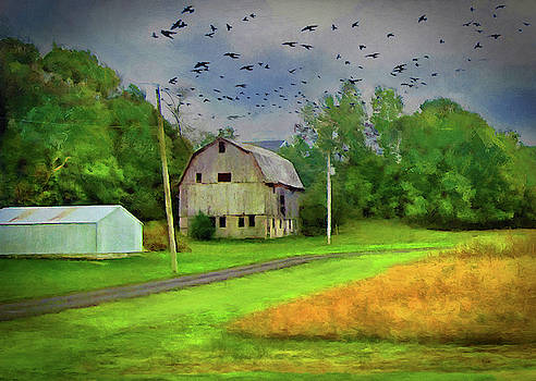 Old Barn In The Midwest by Cedric Hampton