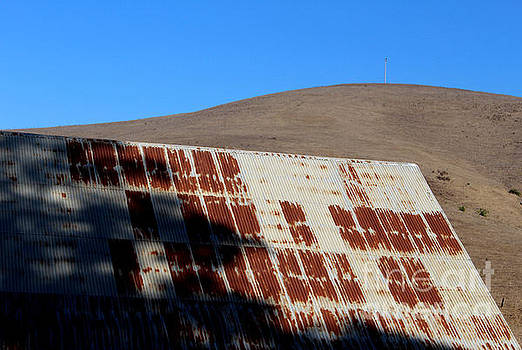 Old Barn Roof by Katherine Erickson