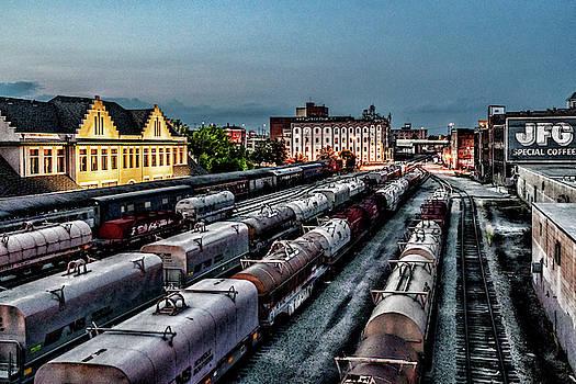 Sharon Popek - Old City Rail Yard