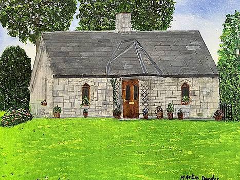 Old Columba's Church Rectory by Martin Dardis