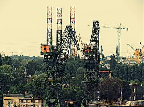 Jurgen Huibers - Old Cranes