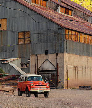 Old Dodge Truck by Jim Allsopp