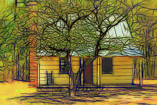Old Farmhouse by Robert Meyerson