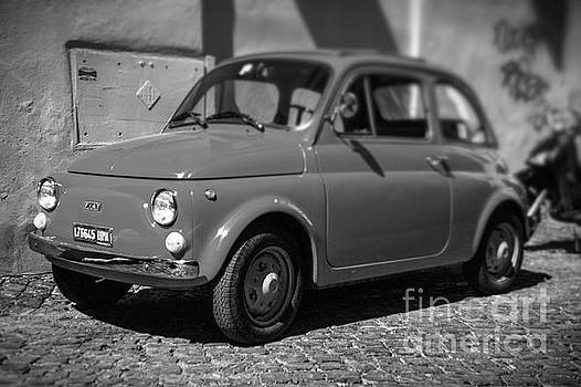 Old FIAT Cinquecento Black and White by Stefano Senise