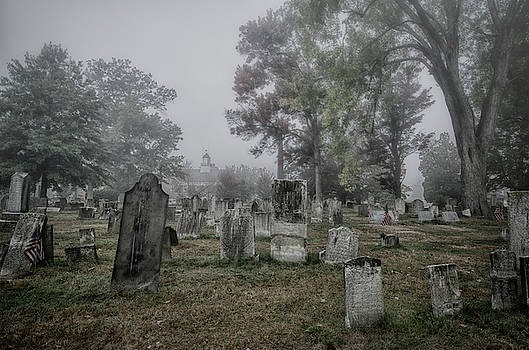Old Foggy Cemetery by Crystal Wightman