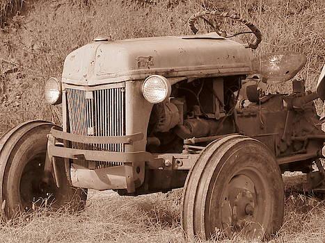 Old Ford 8N by Mandy Byrd