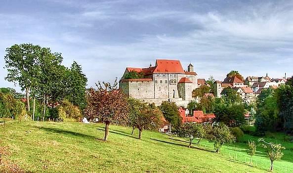 Old fortress, by Karl-Heinz Luepke