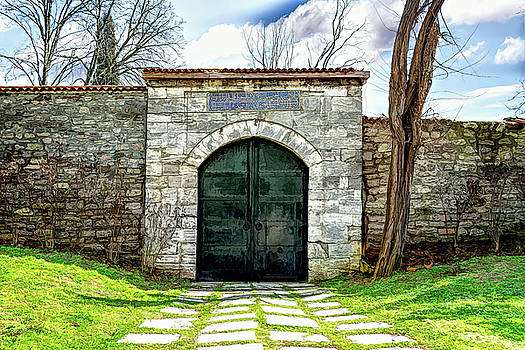 Old Gate by Maria Coulson