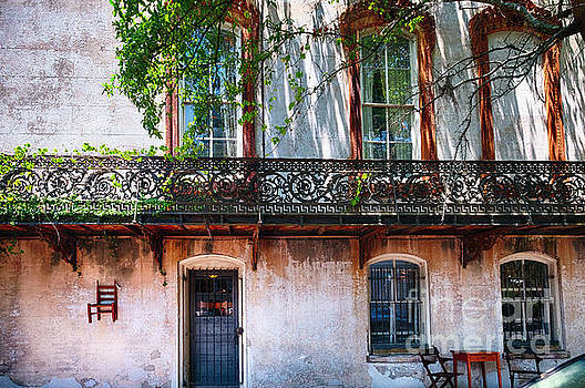 Old House Charm in Savannah by George Oze